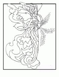 exotic fairy coloring pages free printable fairies coloring