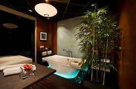 themed bathrooms 20 neat bamboo themed bathrooms home design lover