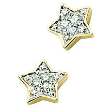 9 carat gold earrings 9 carat gold childrens d for diamond stud earrings