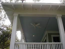 painted porch floor and ceiling in wilmington nc colour solutions