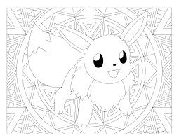 133 eevee pokemon coloring page windingpathsart com