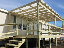 homes with porches mobile home steps and porches dallas deck craft