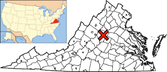virginia on a map of the usa file map of virginia usa highlighting charlottesville png
