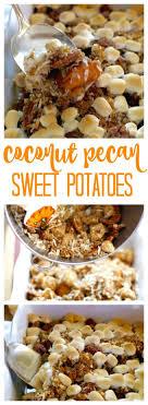 coconut pecan sweet potatoes