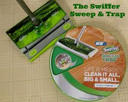 swiffer sweep trap keeps my floors squeaky clean