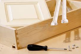 Kitchen Cabinet Building Materials Stock Photo Image Of Cabinet
