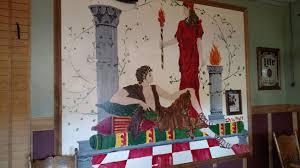 teenage chris pratt painted a must see mural on a restaurant wall a chris pratt original photo imgur