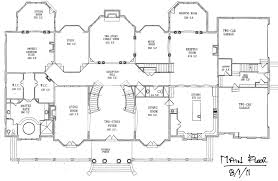Floor Plan Blueprints Free by Mansion Blueprints