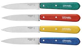 opinel kitchen knives opinel kitchen coloured paring knives 122 trouva bursa bıçağı