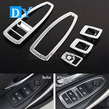 bmw 3 series accesories shop car styling abs window lift button cover decoration