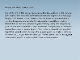 What Is The Best Bed Linen - know how to choose best cotton bed linen