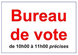 image bureau de vote votation élection