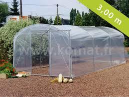 serre horticole en verre accueil