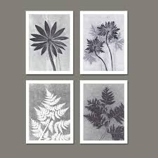 black and white kitchen framed pictures modern black and white leaf troptical plant botanical prints wall decor kitchen living room wall decors black and white leaf