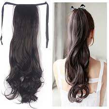 ponytail extension haironline ponytail extensions clip in hair extensions tie up