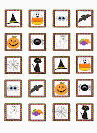 Halloween Bingo Free Printable Cards by Casual Fridays Teaching