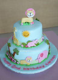 thecakinggirl fondant decorating cute animal cake