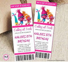 birthday invitation ticket template alanarasbach com