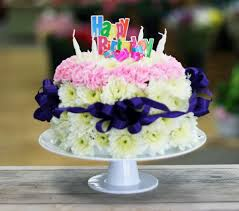 birthday flower cake 35 awesome birthday flowers and cake images collections