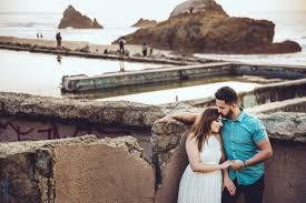 San Francisco Photographers Lands End Engagement Photos In San Francisco Ca Raj U0026 Simran