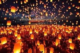 new years lanterns pingxi sky lanterns festival moved for autumn equinox