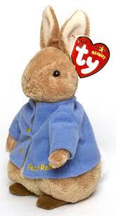 tale peter rabbit ty beanie babies