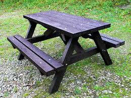 recycled plastic picnic tables ribble picnic table recycled plastic