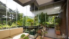 veranda vetro vetrate a tutto vetro tecnoart infissi e verande