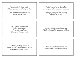 what to say in a wedding thank you card sle thank you cards for wedding gifts wedding
