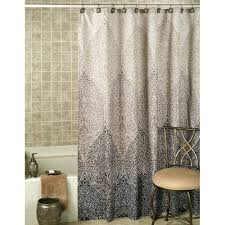 Brown And Gold Shower Curtains Black And Gold Shower Curtain Striped N Set Chargersteve