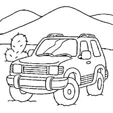 Coloriage voiture de course en Ligne Gratuit à imprimer