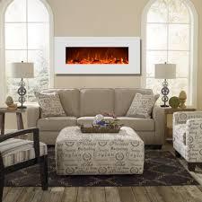 Electric Wallmount Fireplace Liberty 50 Inch Electric Wall Mounted Fireplace White