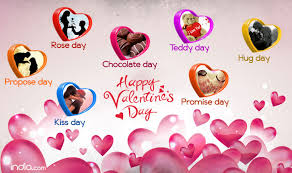 valentines day for week list 2017 day propose day day complete