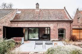 belgian farmhouse gets gorgeous interior makeover but preserves
