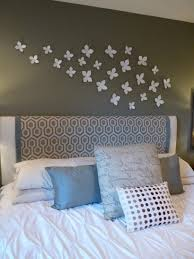 headboard wall art how to make easy wall art wrought iron bed hanging bats dark wooden