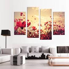 Paintings For Living Room 4 Season Tree Painting Promotion Shop For Promotional 4 Season
