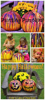 a fun and easy way to paint pumpkins kids will love this in