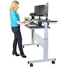 stand up sit down desk adjustable stand up computer desk adjustable mobile sit down with 2825w top