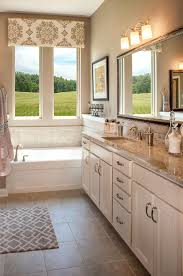 master bathroom with white cabinets the celestial floor plan