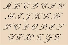 cursive letters font copy and paste docoments ojazlink