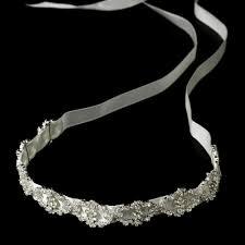 ribbon headbands resplendent ribbon headband bridal hair accessories