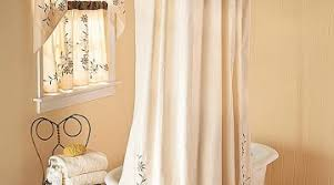 Matching Bathroom Shower And Window Curtains Bathroom Window Curtains With Matching Shower Curtain Lovely