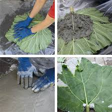 home dzine garden ideas concrete leaf ornament or water feature
