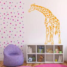 aliexpress com buy giraffe vinyl wall decal animals jungle aliexpress com buy giraffe vinyl wall decal animals jungle safari african animal giraffe mural art wall sticker bedroom living room home decoration from