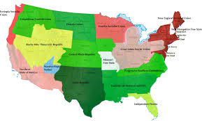 Us Map Of Time Zones by Neoamerica Jpg 3092 1864 Ucrony And Alternative History