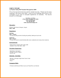 Tennis Coach Resume Sample Resume Sample Recent Graduate No Experience Templates