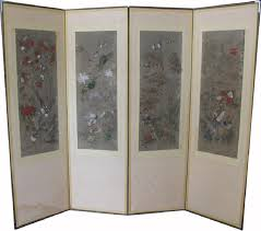 Antique Room Divider by 4 Panel Chinese Room Divider