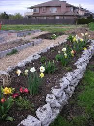 Garden Rock Wall by How To Make A Rock Garden Home Design Website Ideas