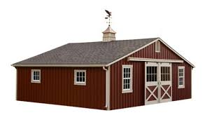 Red Barn Kennel Amish Built Horse U0026 Monitor Barns For Sale In Catskill Ny Amish