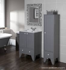 aquachic designer freestanding storage u0026 bathroom vanity unit